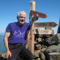 Bill at the top of the world